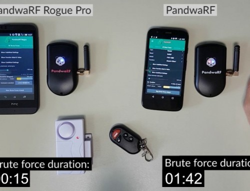 Watch PandwaRF Rogue Pro Disarm An Alarm In 15 Seconds
