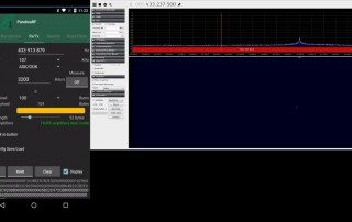 PandwaRF Demo Capture & Retransmit Data Using Several Modulation Patterns